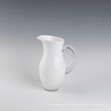 Hochzeitsprodukte Weiß Glasvase