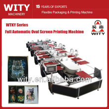 Machine d'impression textile à l'ovale automatique