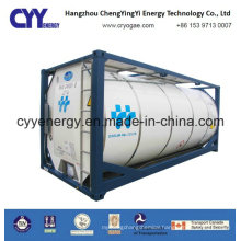 ISO Standard Asme Certification High Pressure Cryogenic Liquid Oxygen Nitrogen Argon Carbon Dioxide Imo7/T75 Tank Container