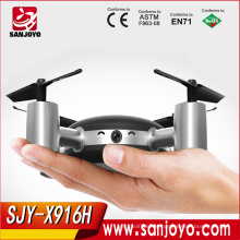 New Arrival Mini RC Drone Quadcopter FPV Camera Real-time WIFI Drone APP Remote Control Helicopter SJY-MJX X916H