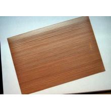 PVC Holz Korn dekorative Blatt