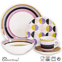 20PCS Ceramic Dinner Set Hand Painted Design