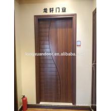 Puerta de la sala de madera, Puerta de la habitación de madera, Diseño de la puerta de madera de teca