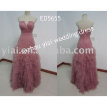 2013 новый дизайн леопарда зерна вечернее платье ED5655