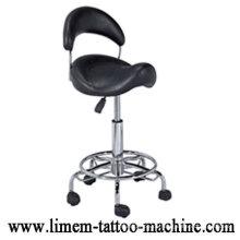 Ajustable Black Tattoo Stuhl Tattoo HockerTragbarer Tattoo Stuhl