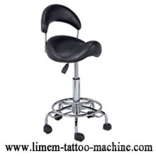 Chaise de tatouage noir Ajustable Tattoo StoolPortable Tattoo Chair