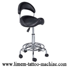 Ajustable Black Tattoo Chair Tattoo StoolPortable Tattoo Chair