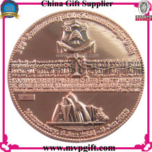 Metal Challenge Coin with 3D Logo for Religious Gift