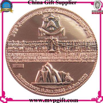Metal Challenge Münze mit 3D Logo für religiöses Geschenk