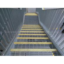 Jimu Hot DIP Galvanized Anti-Slip Stair Tread Steel Grating