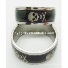 2013 novo estilo aço inoxidável humor anel, anel de descoloração