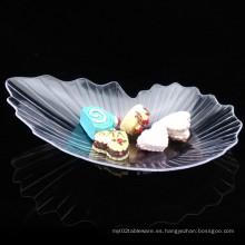 Plato de plástico PP / PS plato de hoja de platillo desechable