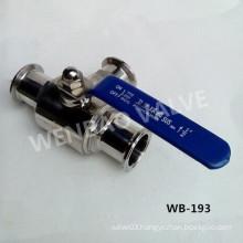 200wog SUS304 Tee Type Sanitary Ball Valve