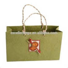 Creative paper bag making by hand