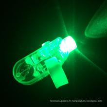 LED verte allume la bague