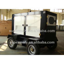 CE approved mobile diesel generating set price