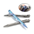 bolígrafo de titanio para herramienta de supervivencia al aire libre