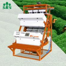 Máquina de processamento de chá 1 Chutes Câmera CCD Pequenas Máquina de classificação de cores de chá de cor de chá