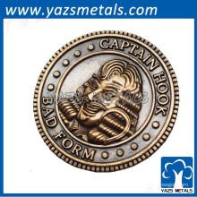 Regalo de la promoción caliente navegación vieja moneda india británica