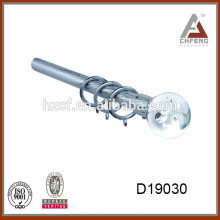 D19030 Varilla de cortina Accesorios, Cortina de cristal Rod Finial, doble barra de cortina simple conjunto