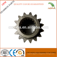 Gearbox spare parts 15 teeth gear for power tiller cultivator