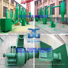 CE Approved YGHJ Sawdust Pipe/Wood Chip Dryer