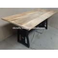 Heavy Mechanic Industrial Crank Dining Table