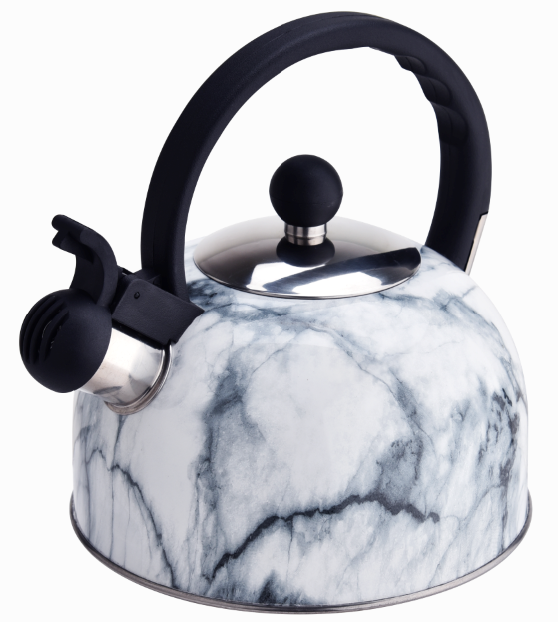 Fh 005wm White Marble Whistling Kettle