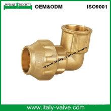 OEM & ODM Qualité Brass Forged Female Elbow (IC-7010)
