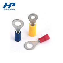 Предварительно изолированные PVC Электрические кольцевые клеммы Обжимные Разъемы