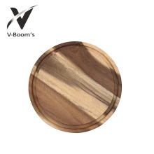 Tábua de cozinha de madeira de acácia