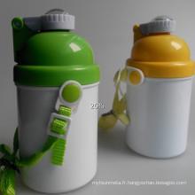 Nouvelle bouteille d'eau Kid Sublimation pour l'impression de transfert de chaleur 400ml
