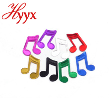 HYYX Customized Color chinese music theme party supplies push pop paper confetti for holiday decoration