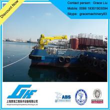 Grue de pont à navire hydraulique
