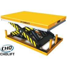 1T High lift Single Scissor Stationary table