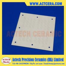 Precision Drilling y substrato de cerámica de alúmina de mecanizado