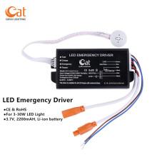 Backup Module Provides Emergency LED Panel Lighting Support