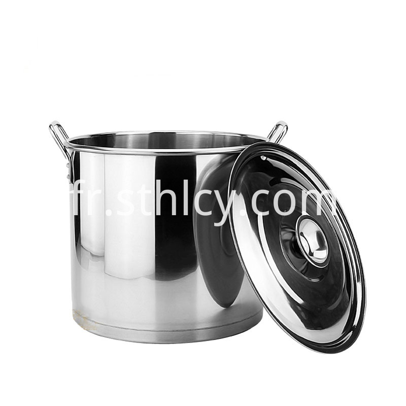Gas Cooker Stainless Steel Soup Bucket