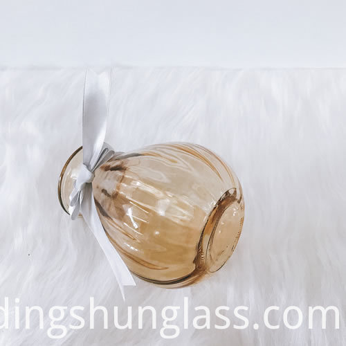 Factory straight glass vase