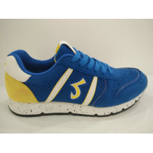 Men′s Blue Hollow out Summer Running Shoes