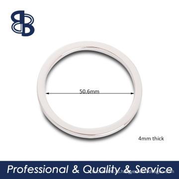 2-дюймовое плоское круглое кольцо для сумок