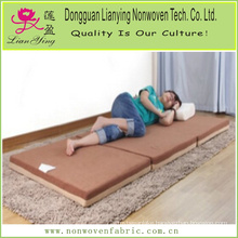 Thermal Bonded Polyester Fold Mattress for Military