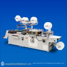 (KZLZZ-320B) Etiquetas engomadas del catéter Máquina de troquelado