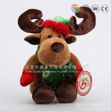 Stuffed christmas toys tree/santa/dolls/moose