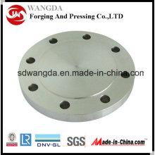Pl carbone & acier inoxydable forgé plaque bride Pn6 En1092-1 Type01