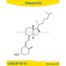 Raw Materiawl Vitamine D3, vitamine D3, USP vitamine D3 / 67-97-0