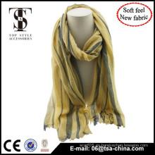 Nueva bufanda unisex de gran tamaño delicado suave material de la alta calidad