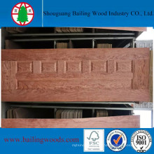 Couro de vaca de madeira natural do folheado da alta qualidade de 3.6mm