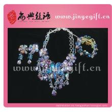 Colección de accesorios de moda hechos a mano con cuentas de cristal de Shangdian para el verano de primavera