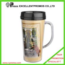 Hot Sale Food Safe Bulk Christmas Plastic Travel Mug (EP-MB1029)